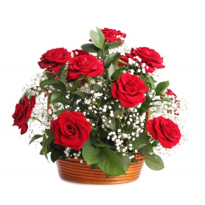 Rose Basket 23
