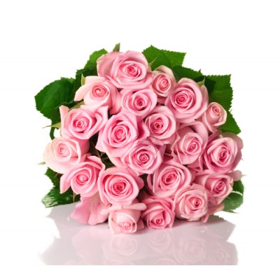 (9.3VRB13) 20 Pink Rose Bouquet