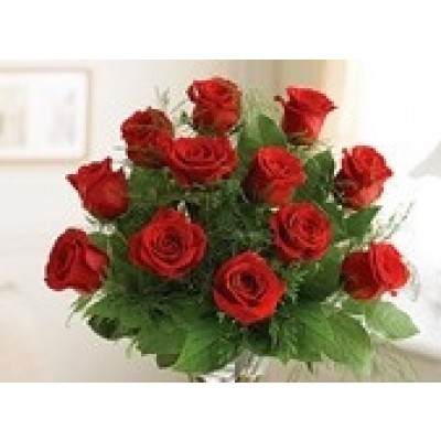 R09 16 Red Rose Bouquet