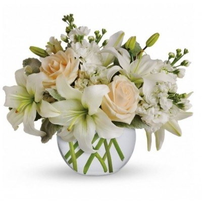 S19  White Bouquet