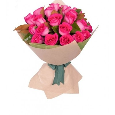 R10 20 Pink Roses Bouquet