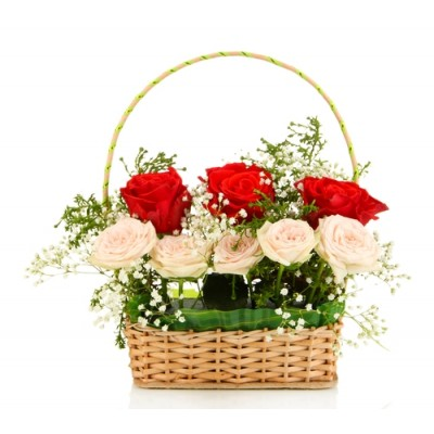 B42 Rose Basket