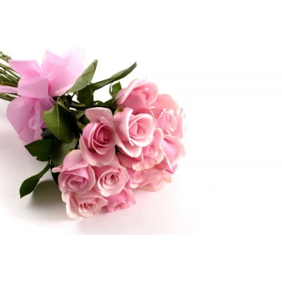 H60 Pink Rose Bouquet